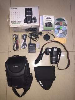 Canon EOS 500D DSRL Camera