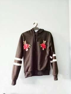 Floral embroided jacket