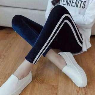 Legging Bludru