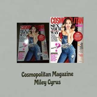 Miley Cyrus Cosmopolitan Magazine