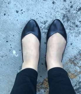 Olivia Mnl Black Flat shoes