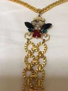 Brand new gold plated necklace with beautiful n colourful gemstones. Great for functions n events. Nego for sincere buyers