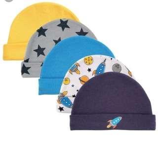 Baby Hats - 5 pcs