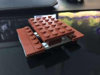 Lego Picnic Table (From Set 60134)