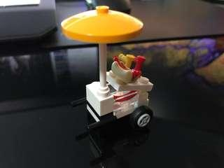 Lego Hot Dog Cart (From Set 60134)