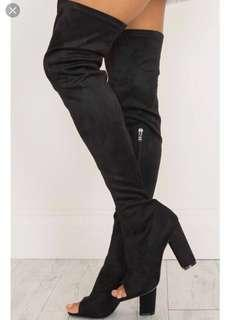 Billini Suede Long Boots