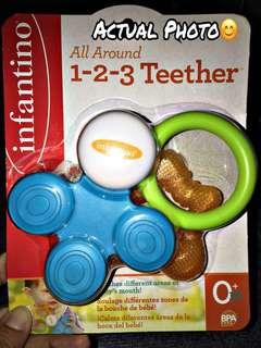 ‼️REPRICED/NEW‼️Infantino All Around 1-2-3 Teether