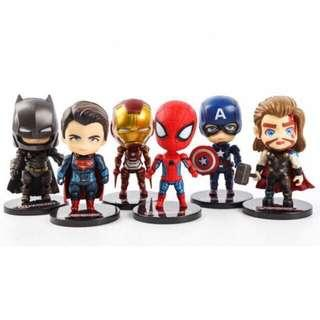 Sale!! Superman and ironman captain america avengers