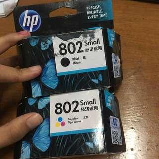 Tinta Hp 802 Black & Tri-colour Small