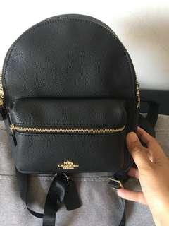 Coach Mini Backpack Original come with Care card