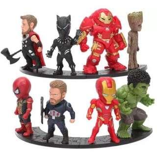 Sale!! Infinity War Avengers Ironman Captain america