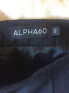 Alpha60 black pants