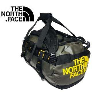 THE NORTH FACE BASE CAMP DUFFLE BAG BACKPACK | HAVERSACK | SMALL Color : TNF OLIVE GREEN