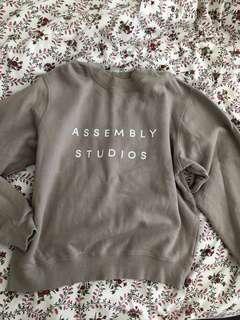 Assembly label Logo Fleece Jumper