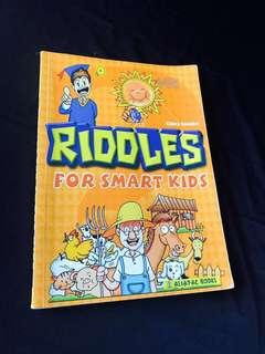 Crazy sale $1! English Riddles for Smart Kids/ Children Books/Jokes/Humour