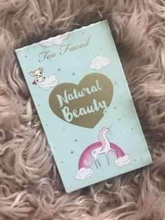 Natural Beauty Too Faced Palette