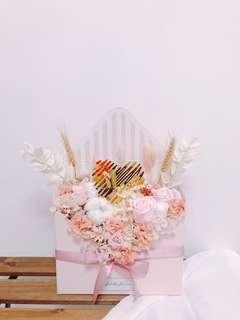 Flowers Envelope: Pinky Love