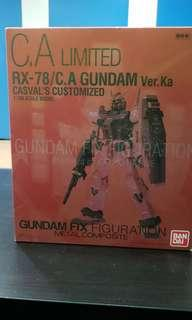 Gundam Rx78 metal composite CA limited