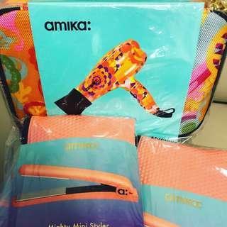 NEW US Amika Mini Styler 直髮夾 Mini Dryer 風筒