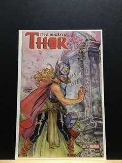 🚚 The Mighty Thor #705 Siya Oum Variant