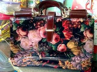 Floral bag SUSEN from kuwait