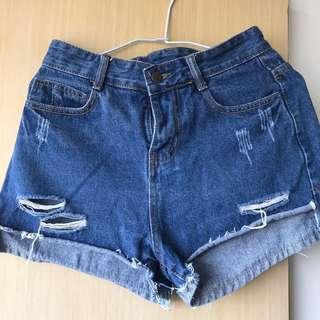 刷破牛仔褲
