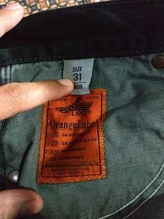 Celana Jeans Lea orange Label