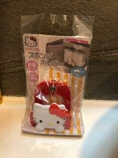 Hello Kitty 海綿架 全新 未折袋
