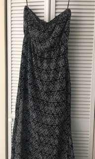 H&M Maxi Dress In Grey