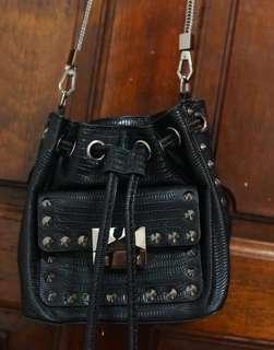 charles and keith studded bag