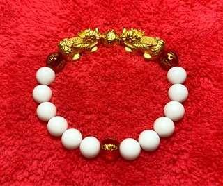 Pure 999 gold Pixiu Bracelet (custom made)
