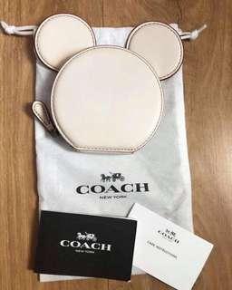 Coach x Disney Mickey Mouse coin purse