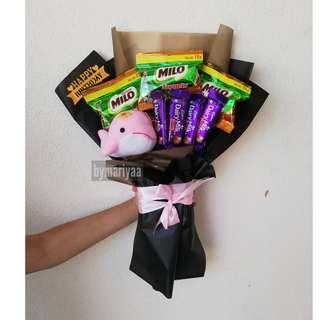 Promo chocolate bouquet RM25