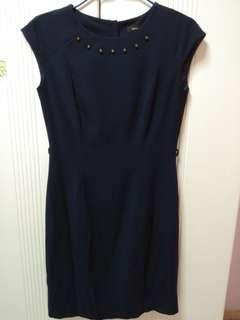 🚚 G2000 Navy Blue dress