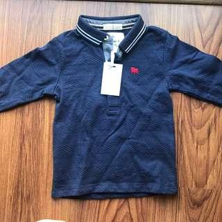 New Debenhams long sleeved polo