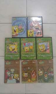 Spongebob squarepants Dvds