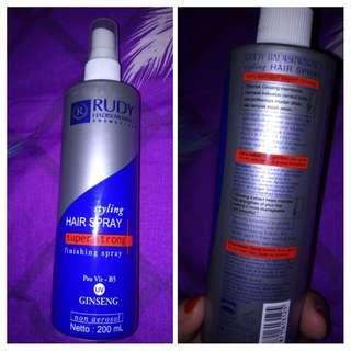 Styling hair spray