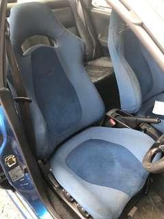 Subaru Impreza Sti seat