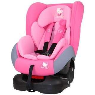 Hello Kitty 凱蒂貓 豪華型嬰兒汽車座椅