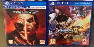 PS4 鉄拳 鐵拳 拳王 街霸 King of Fighters Street Fighter 格鬥遊戲