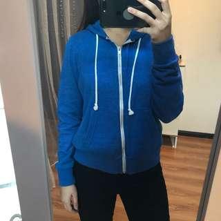 [FREE POSTAGE] H&M BLUE HOODIE