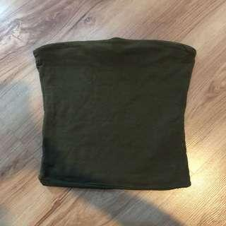 [FREE POSTAGE] Army Green Tube Top