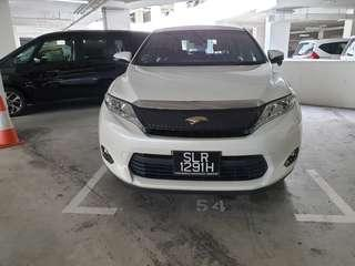 Toyota Harrier Premium 2.0A for rent