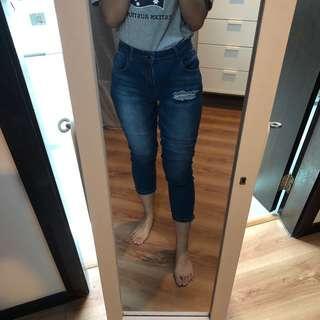 [FREE POSTAGE] Zalora Crop Jeans