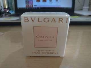 🚚 Bvlgari 寶格麗 晶澈女性淡香水5ml