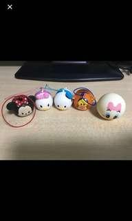 Disney 公仔 tsum tsum minnie donald 唐老鴨 跳跳虎 米妮 米奇 daisy 日本直送 扭蛋公仔 玩具擺設 迪士尼 匙扣