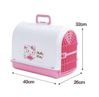 Hello Kitty print pink Pet Carrier