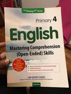 English Comprehension Textbook P4