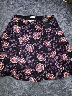 Hollister floral Skirt 短裙