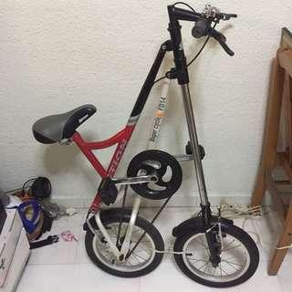 Used Foldable compact bike